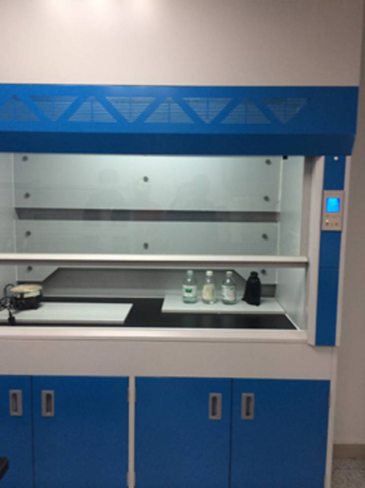 lab fume hood with all steel structure