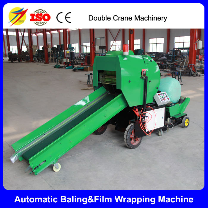 China supplier full automatic silage baling and packing machine