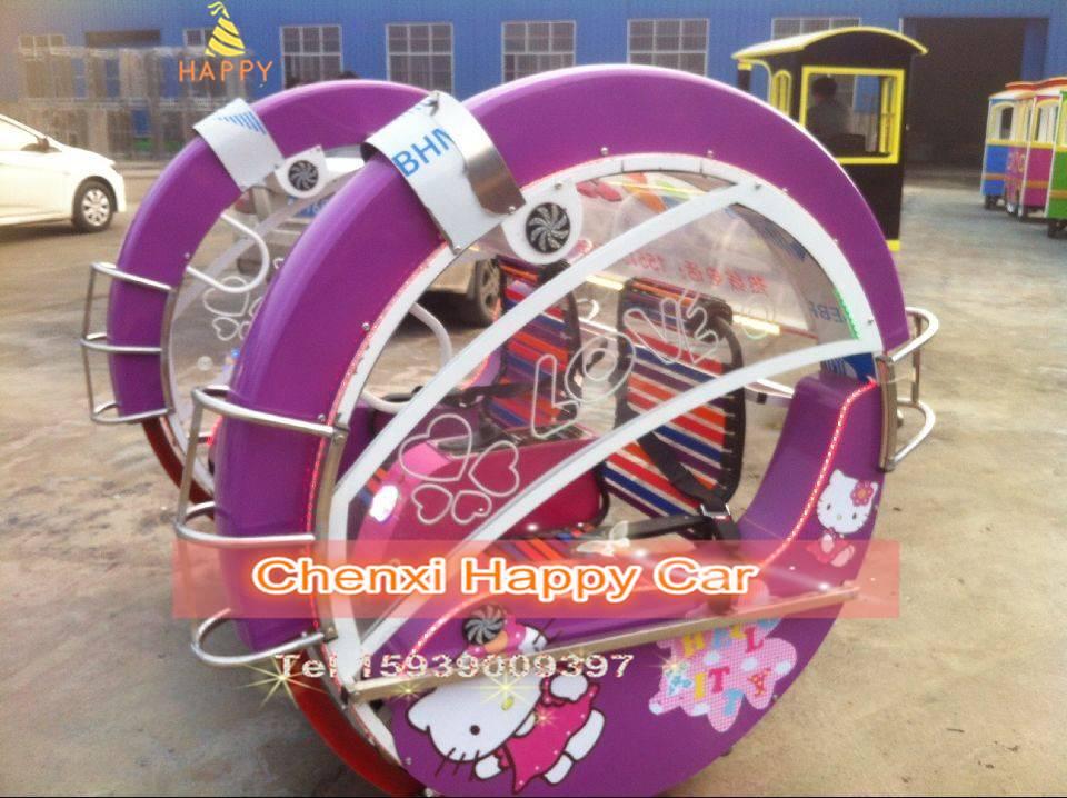 Park Kid Enjoyment Car Happy Swing Racing Go- Kart Car Ride for sale