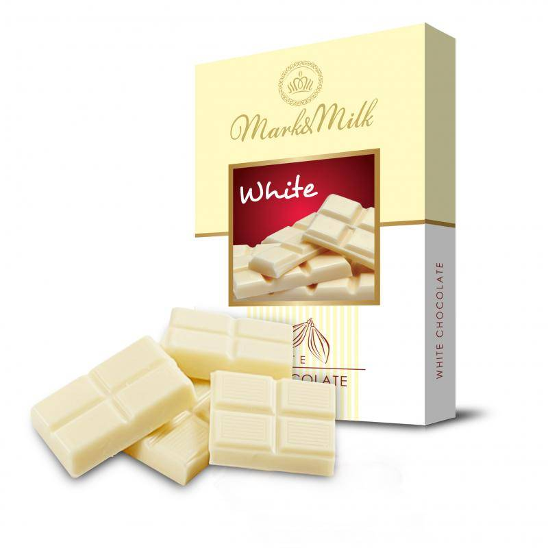 MARK&MILK WHITE CHOCOLATE 50G