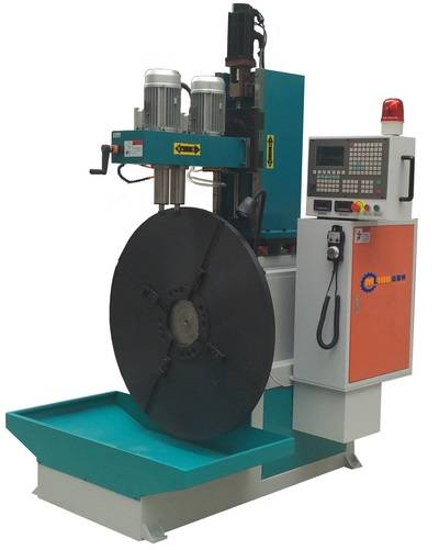 MLTOR pellet ring die two spindle CNC drilling machine