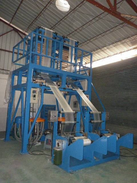 ABA automatic roller-changing film blowing machine