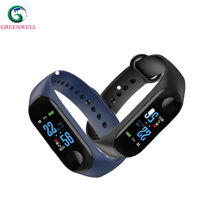Manufacture High quality Oled Display Type bluetooth smart wristband for outdoor sport