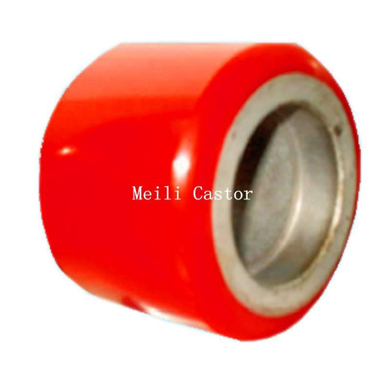 Cast Iron+PU&Nylon Forklift Wheel