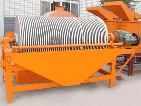 Jiangtai brand magnetite iron mine processing line with magnetic separator