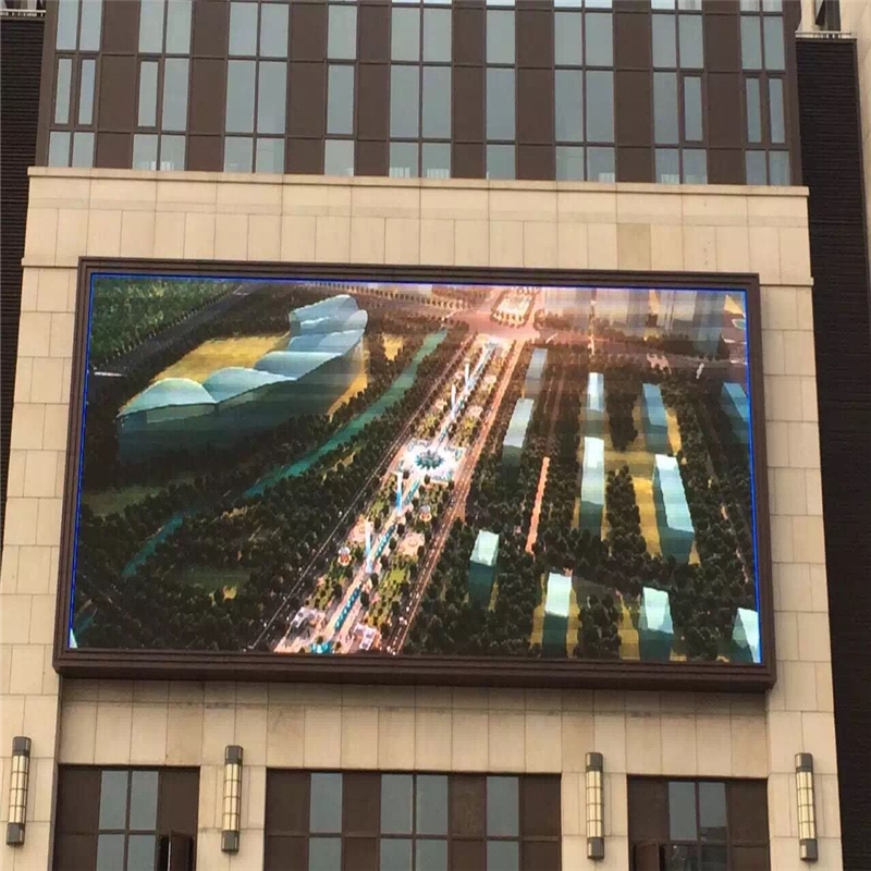 Hot sale Welcome Wholesales 16mm CE ROHS FCC ISO dip billboard led outdoor display for Square,Aderve