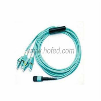 MPO-LC 8Cores Multimode OM3 MTP/MPO Patch Cord