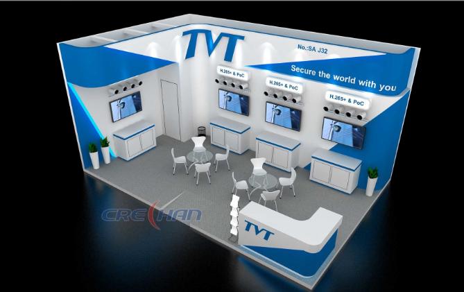 2020 Shanghai CIIE Stand Maker by Crechan Exhibition