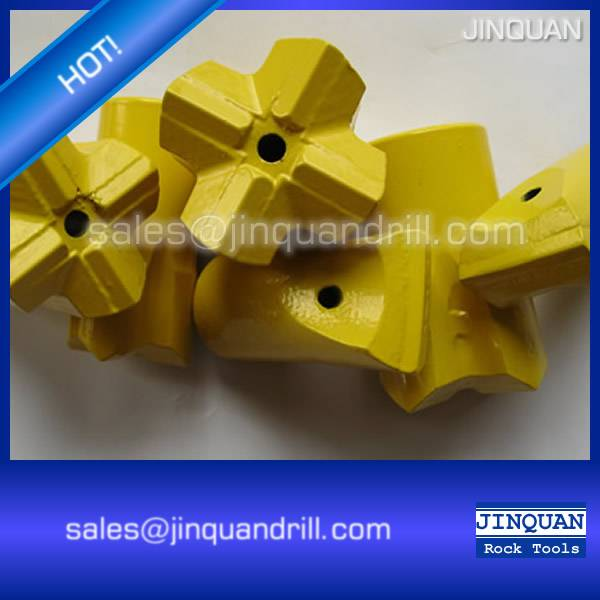 Good quality cross rock drill bit for hard rock drilling