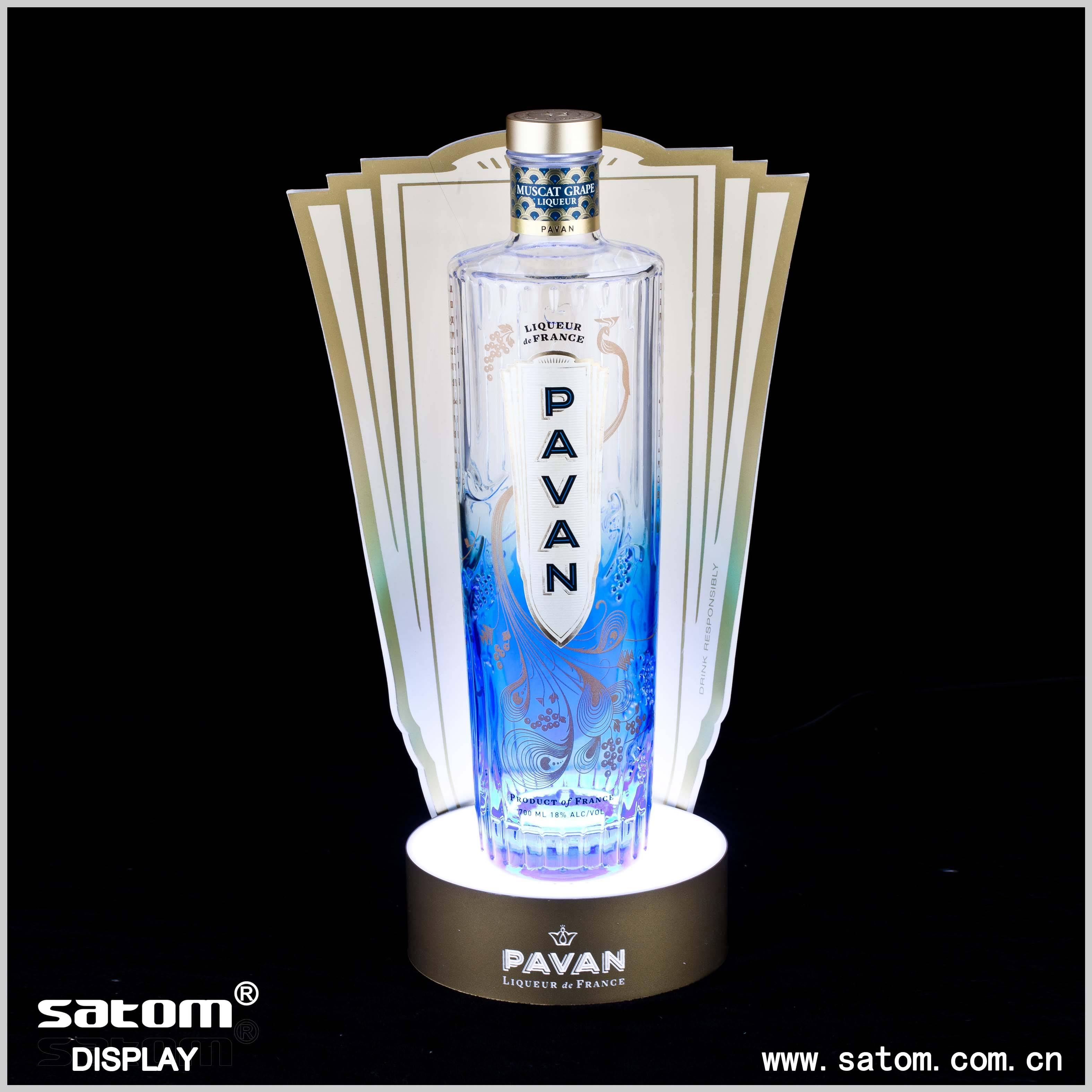 Guangzhou Wholesale Acrylic LED Bottle Glorifier Manufacturer