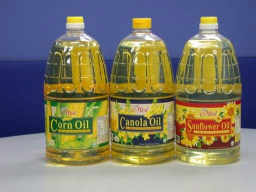 Refined Sunflower Oil/ Refined Corn Oil/ Canola Oil