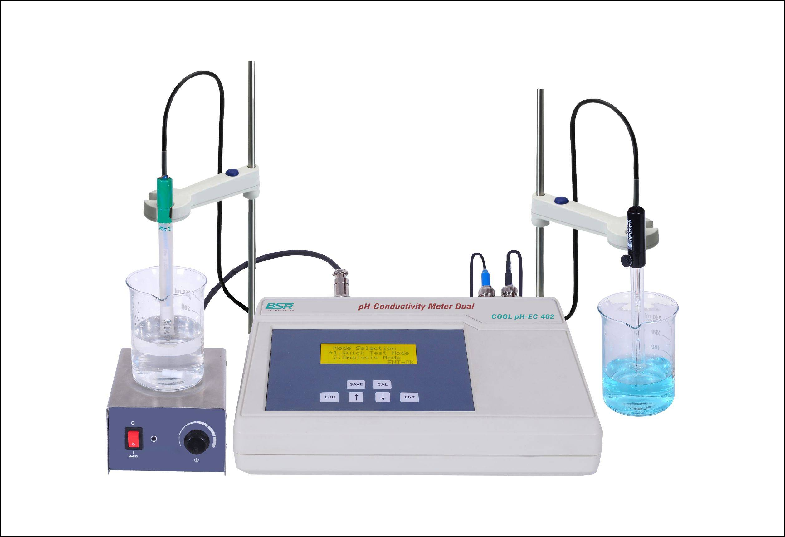 pH-Conductivity Meter Dual