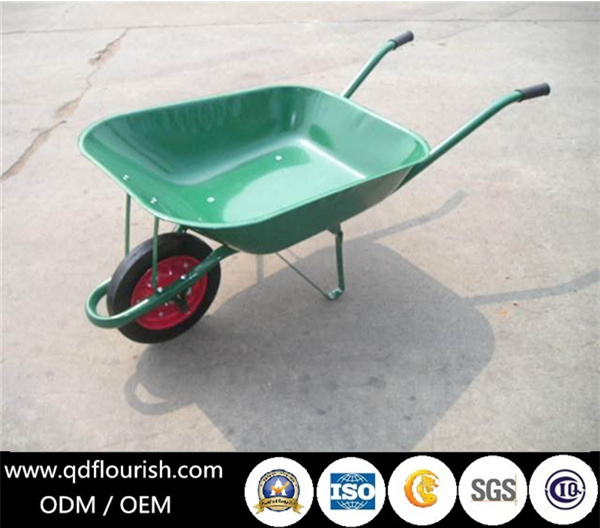 WB6200 Solid Rubber Wheel Barrow Wb3800 Wheelbarrow Garden Cart