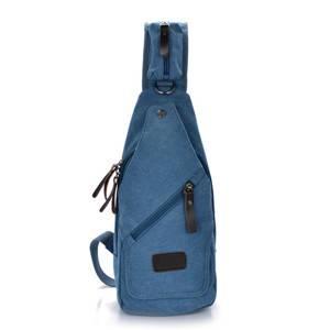 canvas chest bag