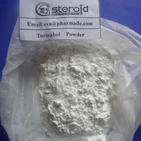 4-Chlorodehydromethyltestosterone Turinabol Raw powder Injectable Steroids 2446-23-3