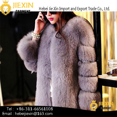 Women Coats Winter Ombre Clothing Ladies Faux Fur Coats