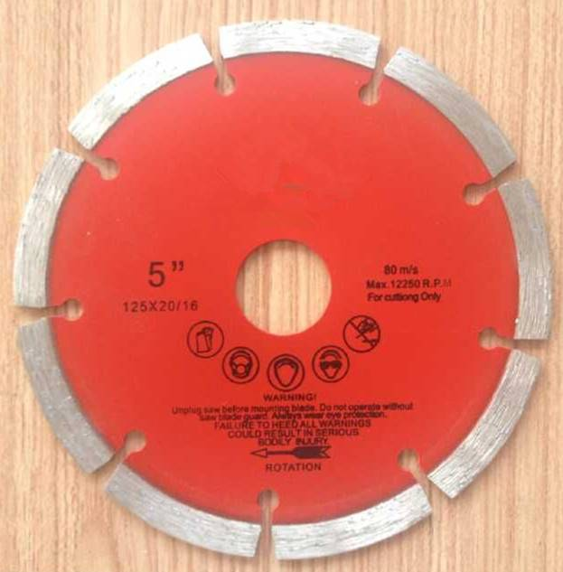 Diamond Saw Blade for Special Cutting Granite with Small Size