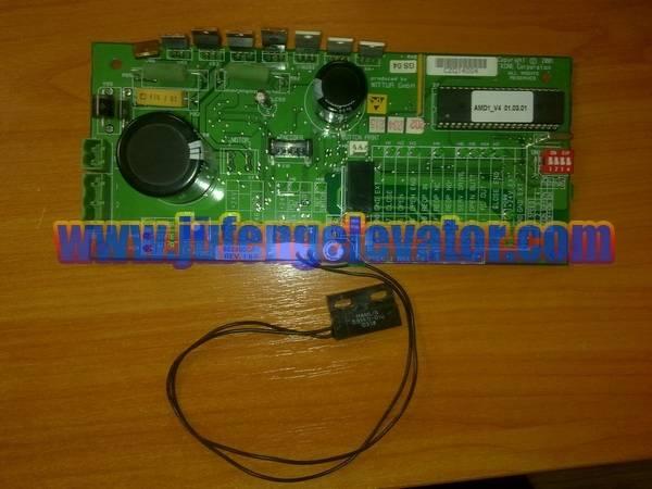 kone PCB 602800G01 AMD1_V4 01.03.01