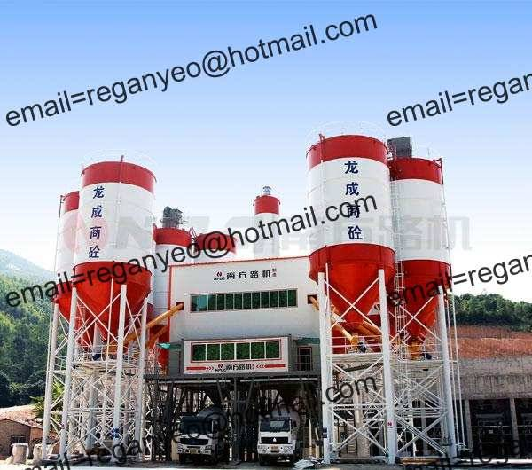 Common Commercial Concrete batching plant