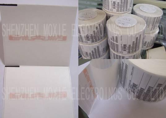 RFID Smart Label UHF Alien/UPM Raflatac/Impinj Monza Adhesive Label