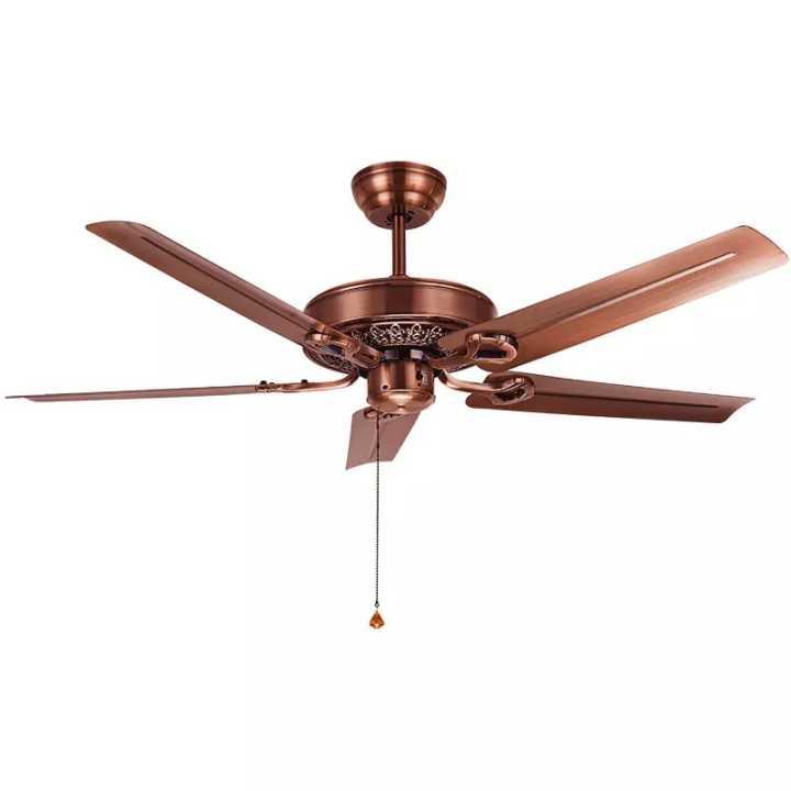 TouchStarMountains wooden ceiling fan