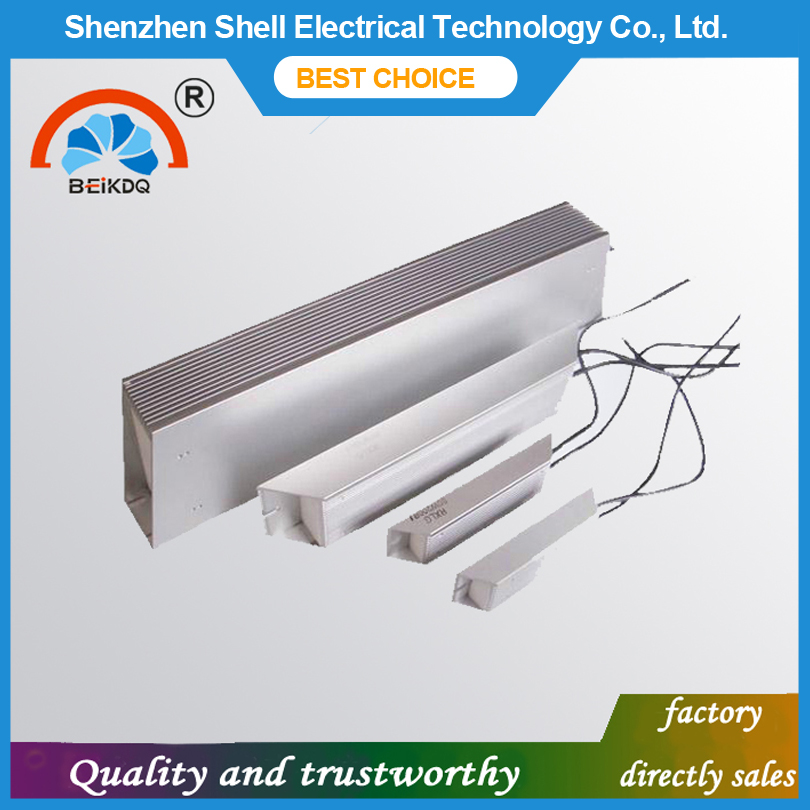 Good quality parallelable customizable 500W braking aluminum shell resistor
