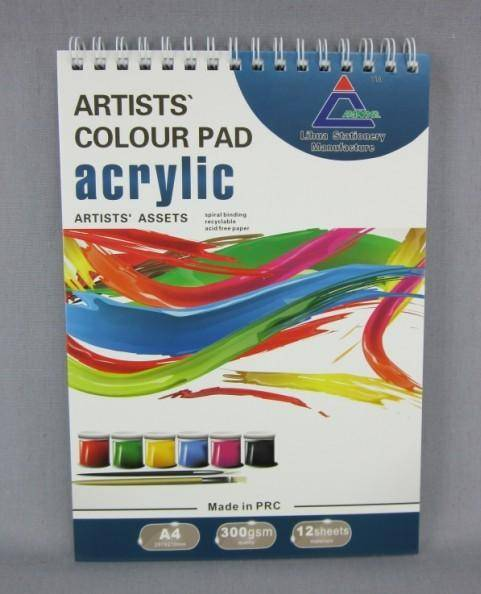 Artist Oil Pad (Acrylic Painting Paper)