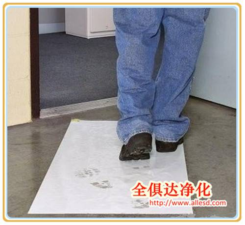 "Peelable Floor Acrylic entrance Door Mat Disposable Transparent 24""x36""Cleanroom Sticky Mat"
