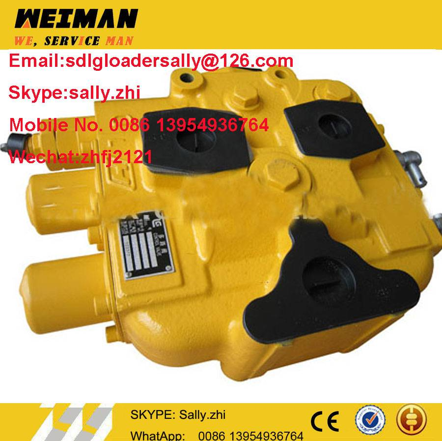 original control valve assembly, 12C0016 in yellow colour for liugong wheel loader