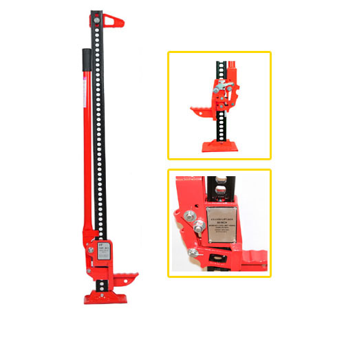 "Recovery Jack 48"" Red All Cast Jack"