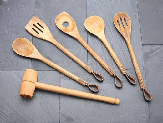 Rinvay Acacia wooden utensils