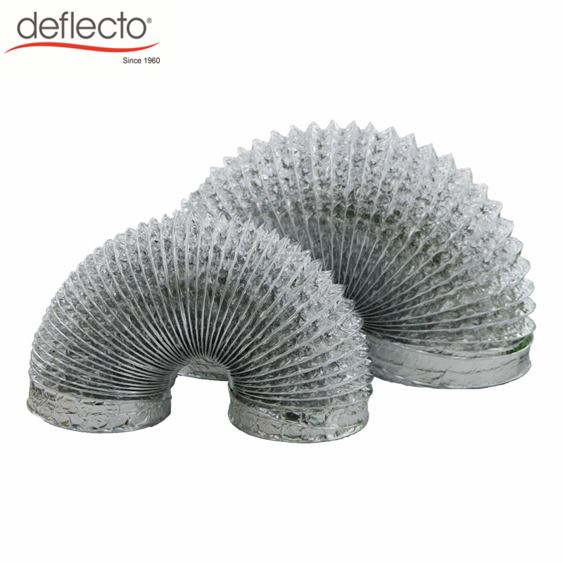 Wholesale Ventilation Air Conditioner Aluminum Flexible Duct with Binding Tape