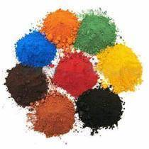 Iron oxide yellow/red/green/black/blue/brown