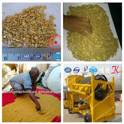 Alluvial Gold Production Line for Export