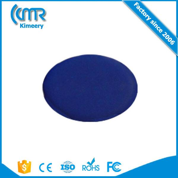 marathon plastic pvc rfid shoe chip tag with two holes / rfid card uhf alien long range rfid maratho