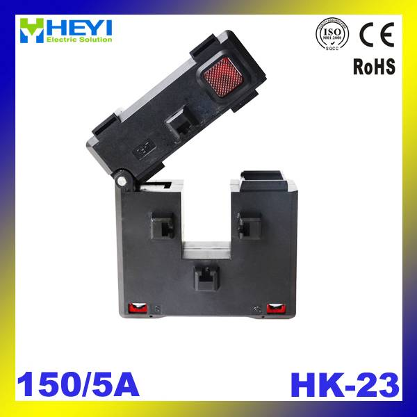 clamp on current transformer HK-23 150/5A Class 1.0 open type split core current transformer