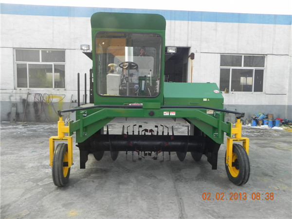 M2600II compost turner, organic compost machine,compost mixer machine