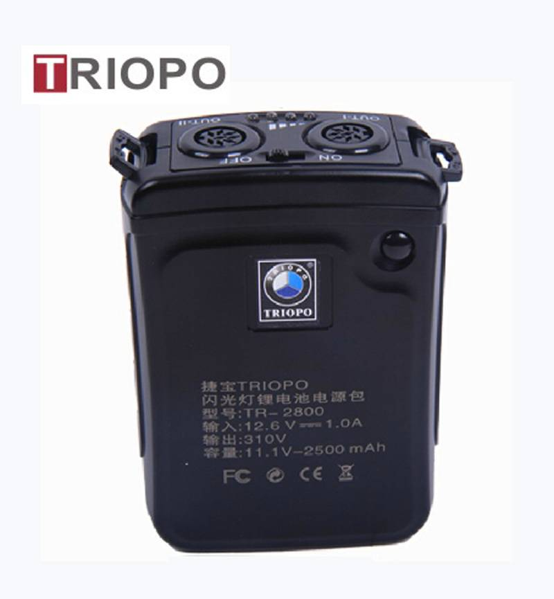 Power pack,Li battery for Nikon and Canon camera flash light,speedlite  TR-2800