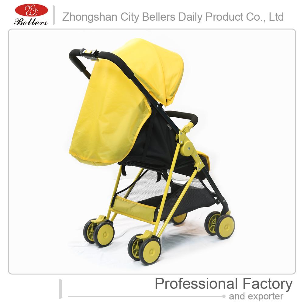 Luxury Aluminum Alloy Infant Foldable Lightweight Travel Baby Pram 3 in 1 Baby Stroller