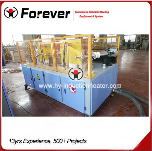 Drill pipe heat treatment line