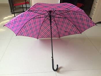 27'' Aoto Golf Black Frame Straight Umbrella