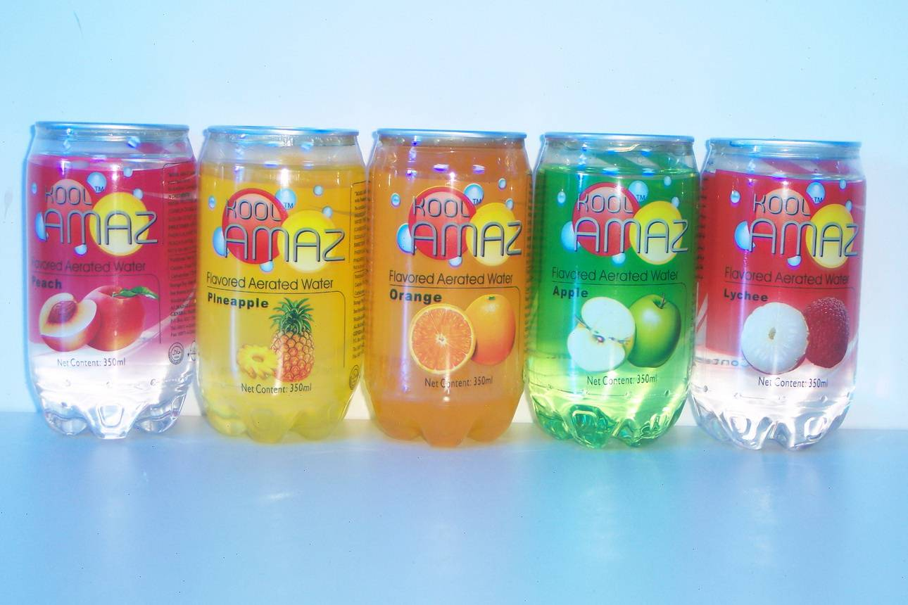 Fruit Flavored Carbonated Drink