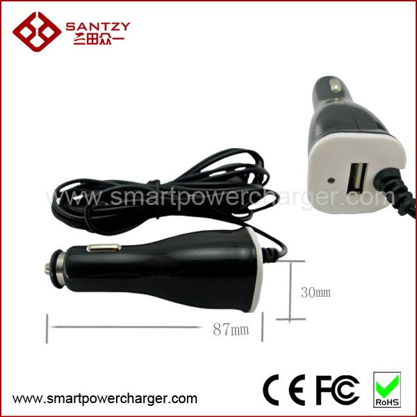 1A output Super fast wholesale custome 1 port single usb car charger