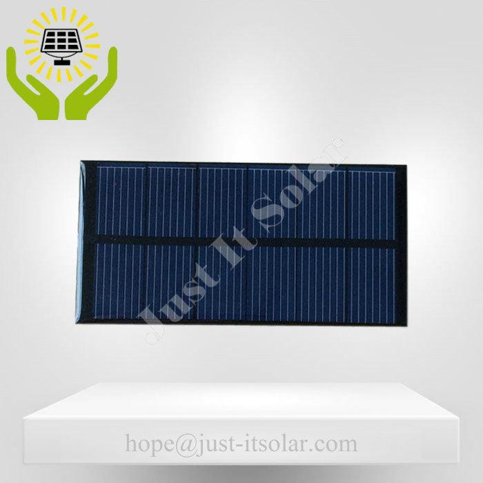 3V 250mA 0.75W Epoxy Resin Mini Solar Panel