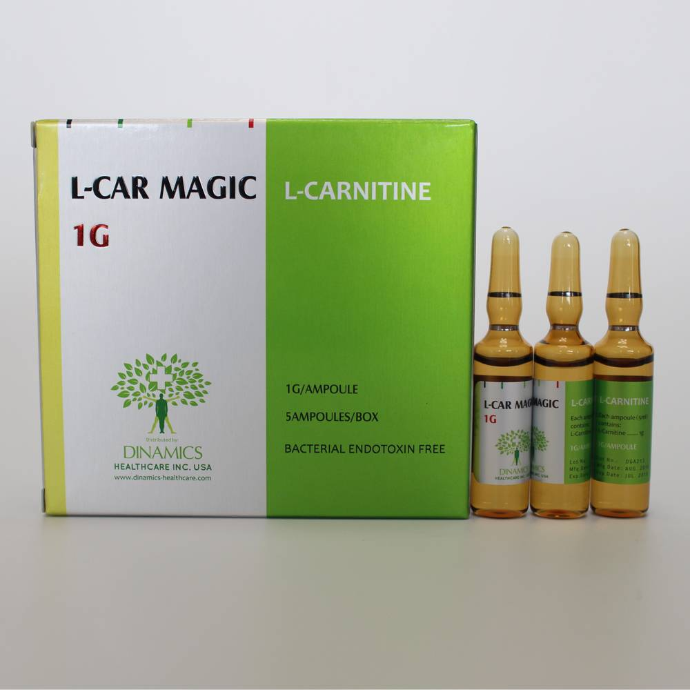 L-CAR MAGIC 1G (L-carnitine Body Slimming Injection)