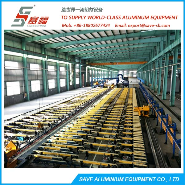 Aluminium Extrusion Profile Cooling Table System