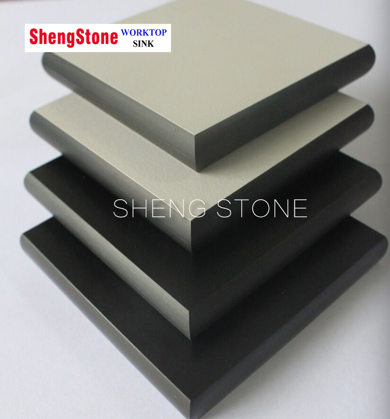 Grey corrosion resistant physical and chemical board,phenolic board,laboratory worktop use phenolic