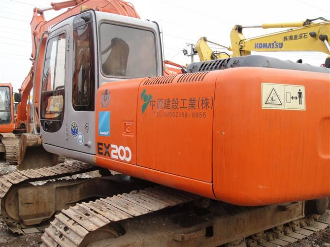 Used Crawler Excavator Hitachi EX200-5