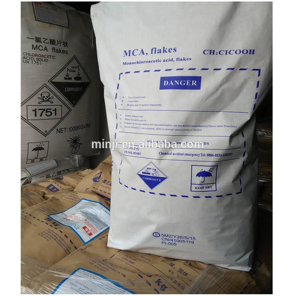99% flake,79-11-8  monochloroacetic acid