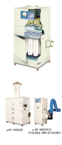 AP Series (Cartridge filter type dust collector)